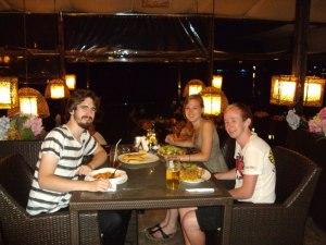David, Mae and I