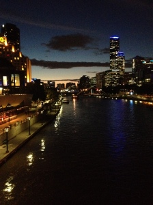 Dusk On The Yarra
