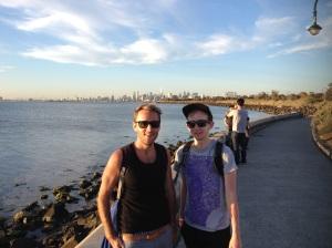 Rob & I