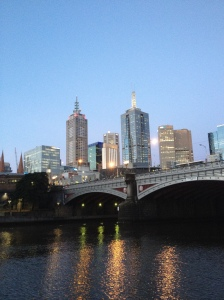 Princes Bridge Skyline
