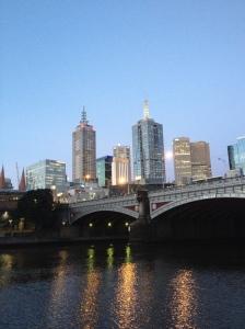 Princes Bridge Skyline