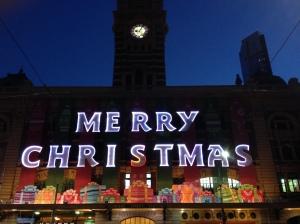 Flinders at Christmas