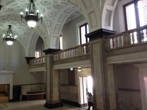 Inside Brisbane City Hall