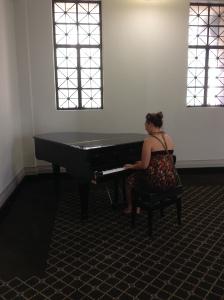 Liz On Piano