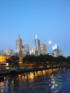 Melbourne Dusk Skyline