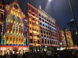 Flinders Street Projections