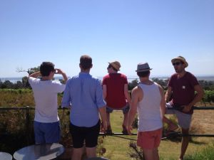Lads On Wine Tour