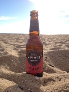 Four Pines Pale Ale On The Beach