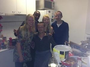 Margriet, Arnold, Emily, Chris