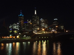 Melbourne CBD By Night