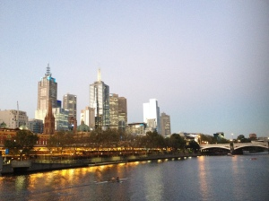 Melbourne CBD From Southbank