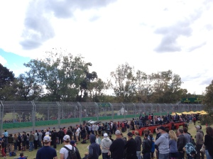 Melbourne Grand Prix First Corner