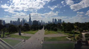 Melbourne Skyline Panorama
