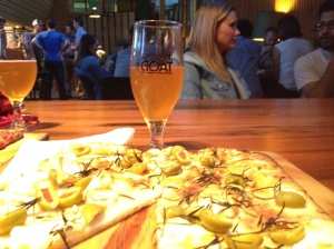 Mountain Goat Pizza & India Pale Ale