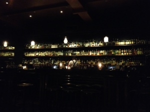 Behind The Bar At Eau De Vie