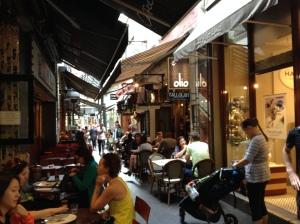 Block Arcade Cafes