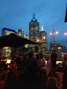 The City From The Curtin House Rooftop Bar