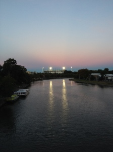 The MCG At Sunset