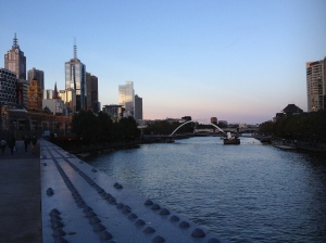 Dusk Over The Yarra