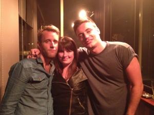 Rob, Sarah & James