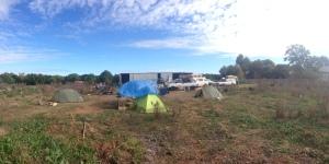 Curlwaa Campsite Panorama