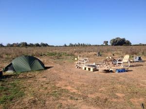 An Empty Campsite