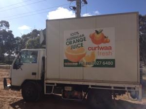 Curlwaa Fresh Truck