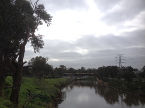 The Yarra River In Hawthorn