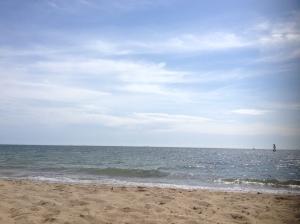 Port Phillip Bay From Brighton Beach