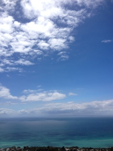 The Sky Meets The Sea Over Port Phillip Bay