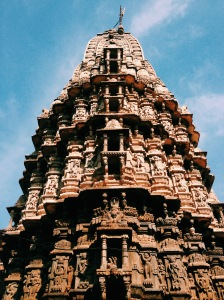 A Hindu Temple Tower