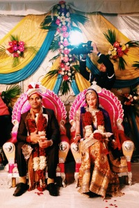 Our Indian Bride And Groom
