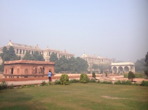 The Grounds Of The Red Fort