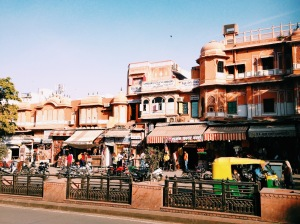 The Streets Of Jaipur