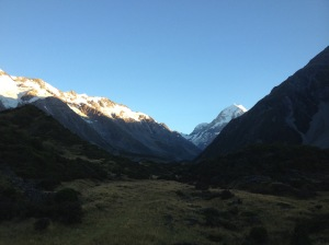 Morning In Hooker Valley