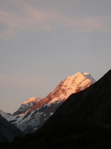 Mount Cook At Dusk