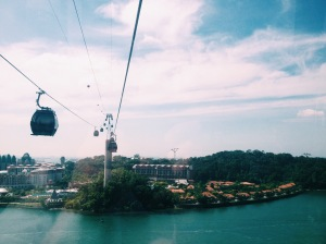 The Singapore Cable Car