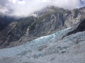 Blue Ice on Franz Josef