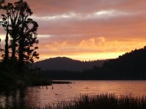 Lake Ianthe Sunset