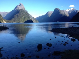 Milford Sound High Tide