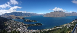Queenstown & Lake Wakatipu Panorama