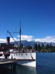 Steam Boat In Queenstown