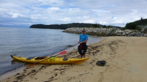Chris With His Sea Kayak
