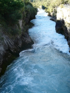 Huka Falls Channel