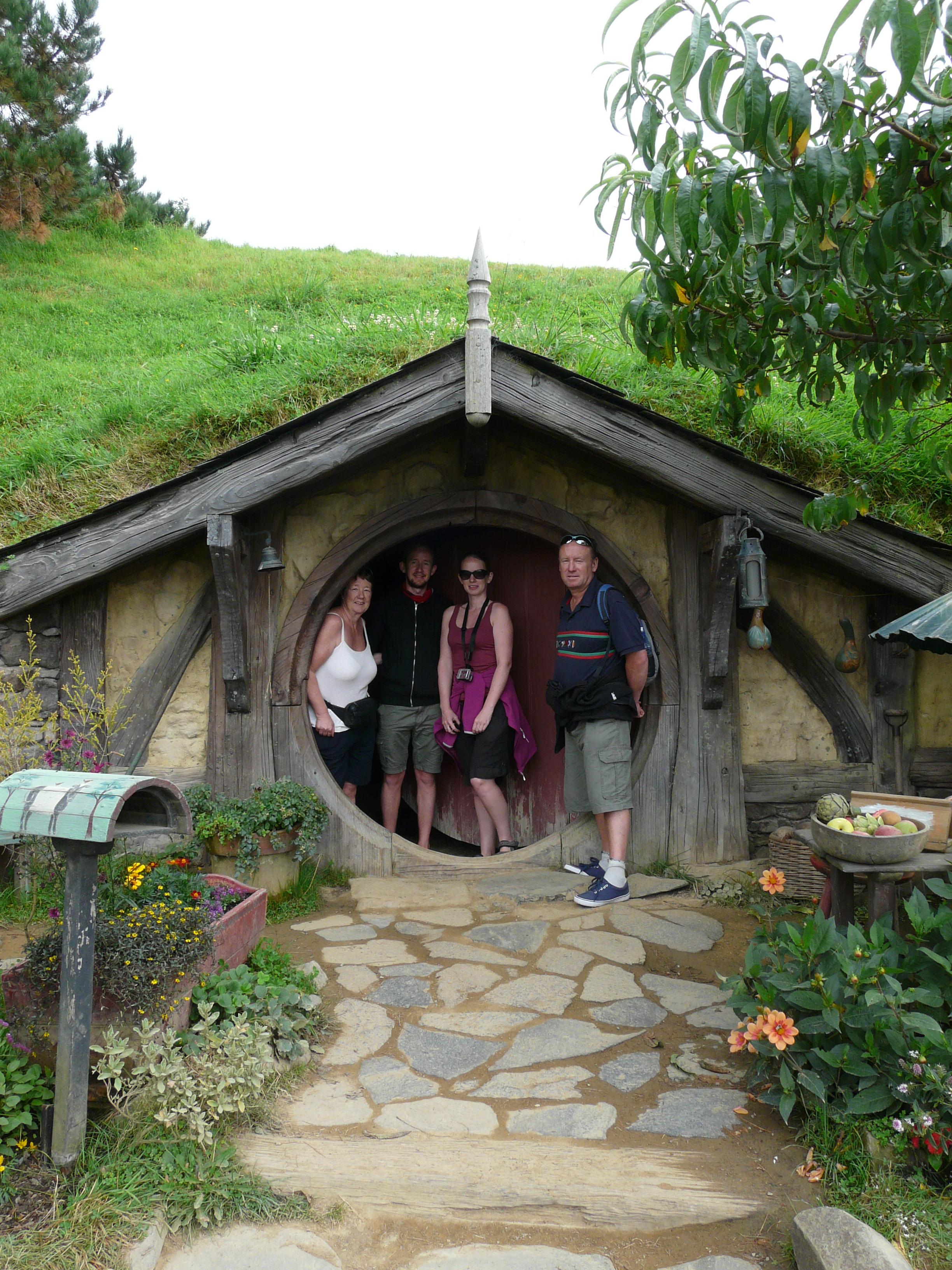 Inside A Hobbit Hole