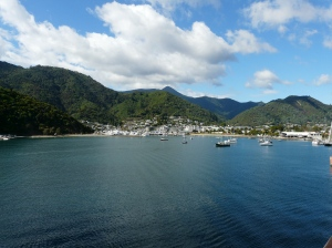 Leaving Picton