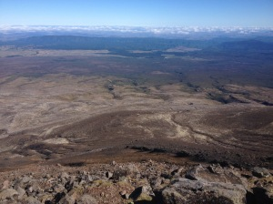 Mt Tongariro Summit View