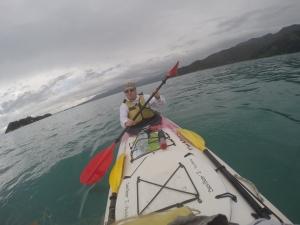 Paul In His Kayak