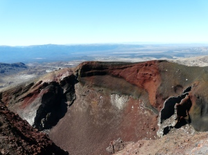 Red Crater Rim