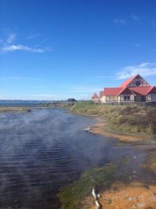Steaming River Feeding Lake Rotorua